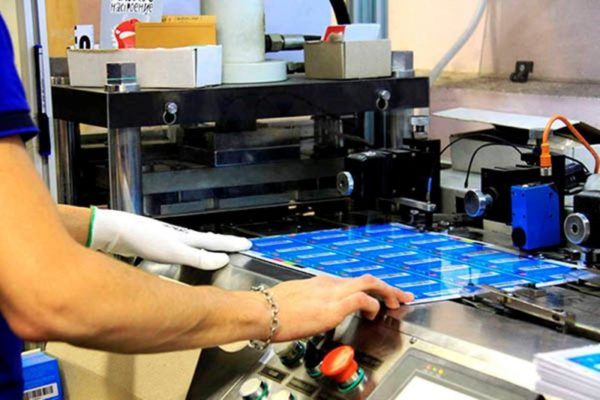 процесс изготовления пластиковых карт
