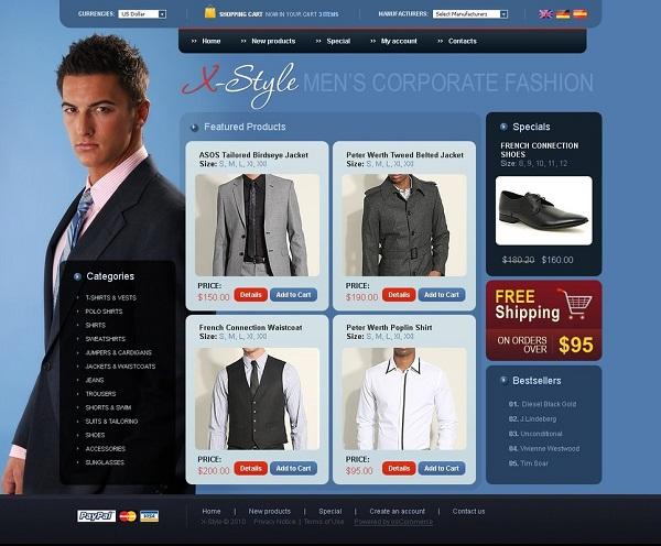 Как выбрать шаблон для интернет магазина