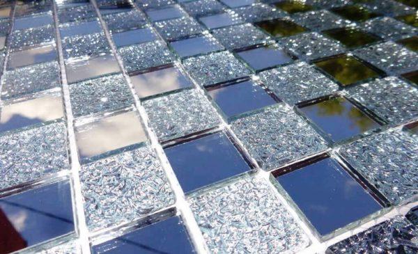 Производство плитки для облицовки из ненужного стекла