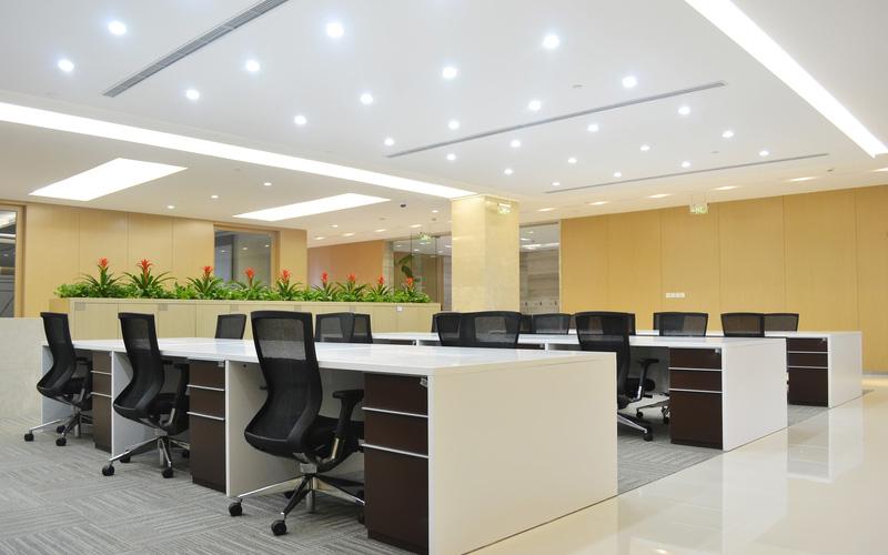 правильное освещение офиса