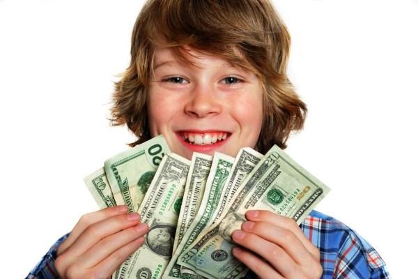 Как заработать деньги школьнику