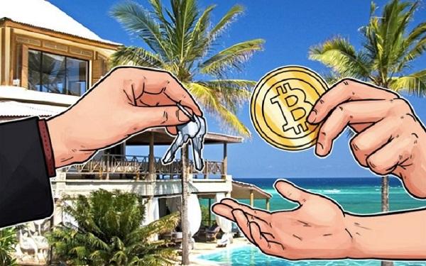 недвижимость за биткоин