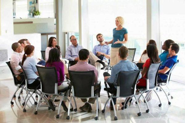 Лекции в офисе