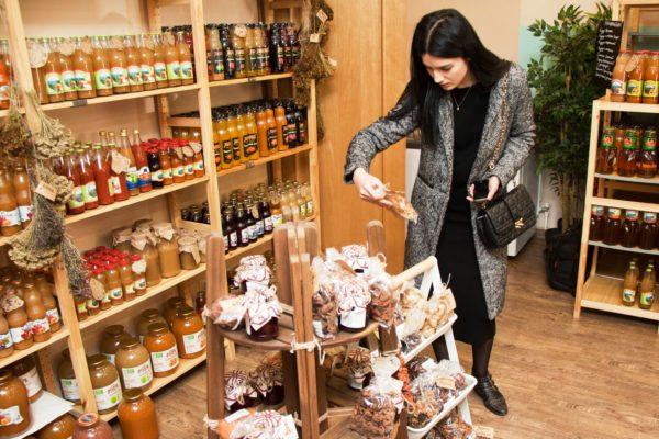 Магазин экологических продуктов