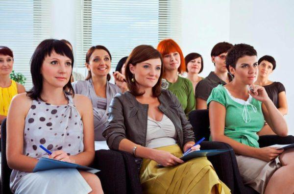 Бизнес тренинг для женщин