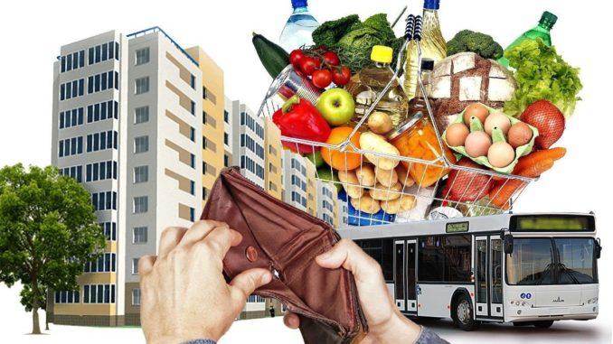 Питание – основные семейные расходы