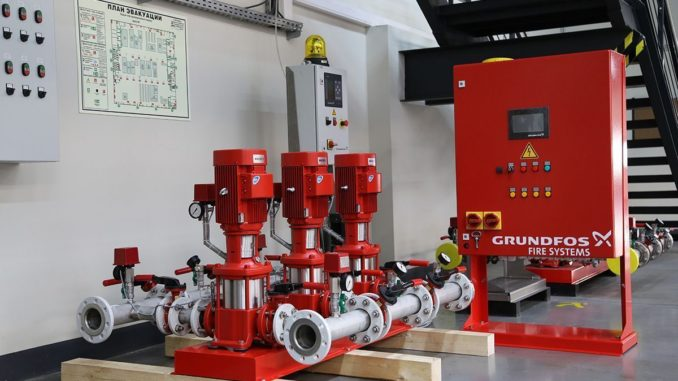 Станции пожаротушения Grundfos