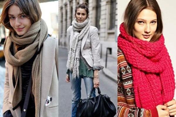 Как выбрать шарф к пальто