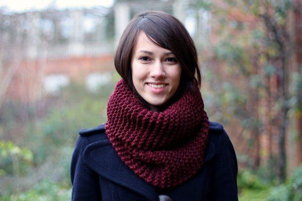 шарфы снуд