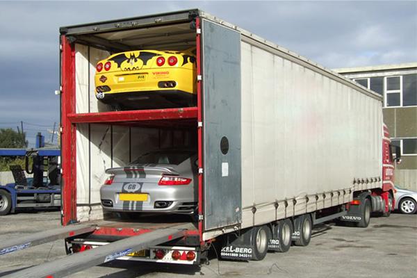 Перевозка автомобилей закрытым автовозом